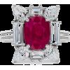 Burmese Ruby and Diamond Ring - Rings - £75,300.00  ~ $99,077.60