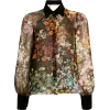 Burnett New York Floral Printed - Camicie (lunghe) -