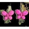 Butterfly Earrings - Earrings - $13.00