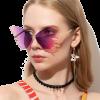 Butterfly Shape Design Women Sunglasses - People - $4.68