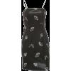 Butterfly reflective strap dress women's black slim strapless dress - ワンピース・ドレス - $27.99  ~ ¥3,150
