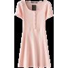 Button Button Short Sleeve Dress - Vestiti - $25.99  ~ 22.32€