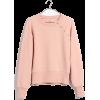 Button-Detail Sweatshirt - Long sleeves shirts - $59.50  ~ £45.22