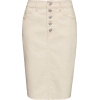 Button-Fly Denim Skirt - Krila - $24.97  ~ 21.45€