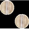 Button stud earrings - Kolczyki -