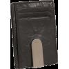 Buxton Lexington II Front Pocket Wallet Black - Portfele - $19.00  ~ 16.32€
