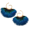 Buzios Small Feather Earrings GasBijoux - Ohrringe -