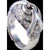 Bvlgari Women's 18K White Gold Partial D - Rings - $2,650.00  ~ £2,014.03