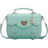 Bygoods bag in mint - Messenger bags -