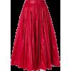 CALVIN KLEIN 205W39NYC shiny full skirt  - Skirts -