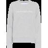 CALVIN KLEIN JEANS Logo cotton jersey sw - Camisetas manga larga -