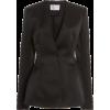 CAROLINA HERRERA Double Bonded Satin Fit - Jacket - coats -