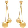 CAROLINA HERRERA Double-sphere drop earr - Ohrringe -