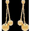 CAROLINA HERRERA Double-sphere drop earr - Earrings -