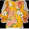 CAROLINA HERRERA Floral-print knotted of - Vestidos -