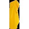 CAROLINA HERRERA Silk Faille Asymmetric - Vestidos -