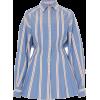 CAROLINA HERRERA blue cotton shirt - Shirts -