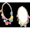 CAROLINA HERRERA gemstones hoop earrings - Earrings -