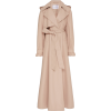 CAROLINA HERRERA pink leather trench - Jacket - coats -
