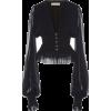 CAROLINE CONSTAS chiffon blouse - Shirts -
