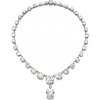 CARTIER diamond necklace - Naszyjniki -