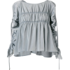 CARVEN gathered detail blouse - Shirts - $729.00