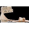 CASADEI open toe embellished sandals - Sandale -