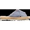 CASTAŇER denim flat sandal - Flats -