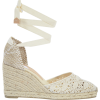 CASTANER Carina Crochet Espadrilles - 坡跟鞋 -