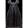 CECILIE BAHNSEN black quilted dress - Dresses -