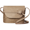 CESTA COLLECTIVE neutral straw bag - Hand bag -