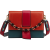 CHAIN-LINK DETAIL MESSENGER HANDBAG 1 - Messenger bags - $36.97