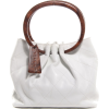 CHANEL Lambskin Stitched Wood Handle - Carteras -