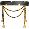 CHANEL Leather Belt Chains and Coins - Belt -