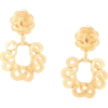 CHANEL PRE-OWNED 1997 C link earrings - Aretes -