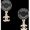 CHANEL PRE-OWNED 2007 CC drop earrings - Earrings -