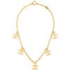 CHANEL PRE-OWNED CC chain necklac - Collares -