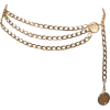 CHANEL Triple Strand Detail Chain Belt - Remenje -