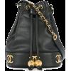 CHANEL VINTAGE logos drawstring shoulder - Hand bag - $4,766.00