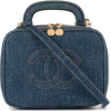 CHANEL black denim bag - Borsette -