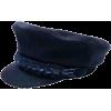 CHANEL blue wool cap - Hat -