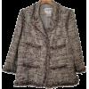 CHANEL brown jacket - Jacket - coats -