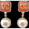 CHANEL clip - Earrings -