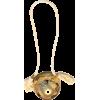 CHANEL golden metallic clutch - Borse con fibbia -