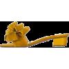 CHARLOTTE OLYMPIA BOWLETTER SANDALS, DAR - Sandalias -