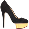 CHARLOTTE OLYMPIA Dolly suede platform p - Platforms -