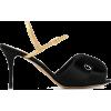 CHARLOTTE OLYMPIA Drew slingback sandals - Sandals -