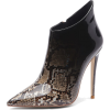 CHIC OMBRE SNAKE PRINT ANKLE BOOTS (2 CO - Boots - $92.97