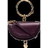 CHLOÉ Purple Nile Minaudiere bracelet ba - Torebki -