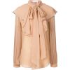 CHLOÉ ruffled yoke blouse $1,995 - Camisas manga larga -